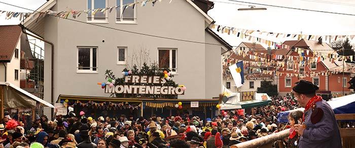 Johrmärkt in Montenegro